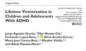 La revista Journal of Interpersonal Disorders publica un article sobre infants i joves amb TDAH